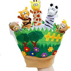 Puppen Fingerpuppe Spielzeuge Rabbit Tier Tiere Kind Stücke