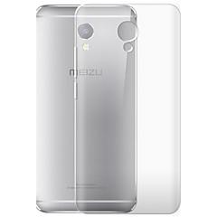 お買い得  その他のケース-ケース 用途 Meizu クリア バックカバー その他 ソフト TPU のために Meizu Note 5