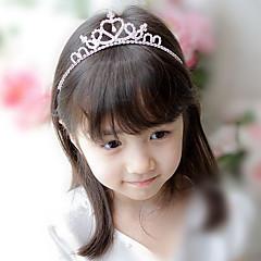 코아 여자 귀여운 공주 diamante 크라운 머리띠