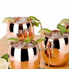 Günlük/Sade Gitmek Bar Bardak Takımı, 400 Çelik Boru Meyve suyu gazlı İçecek Çaylar ve İçecekler Büyük Bardak