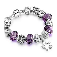 preiswerte Armbänder-Damen Strang-Armbänder - Freunde Luxus, Dehnbar, Modisch Armbänder Purpur / Blau / Rosa Für Weihnachten Weihnachts Geschenke Hochzeit