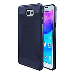 Etui Til Samsung Galaxy J7 Prime J5 Prime Stødsikker Bagcover Helfarve Blødt TPU for On7(2016) On5(2016) J7 Prime J5 Prime