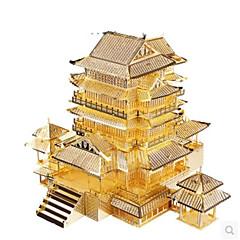 Kit de Bricolaje Puzzles 3D Puzzle Puzzles de Metal Juguetes Edificio Famoso Arquitectura 3D Manualidades Artículos de decoración No