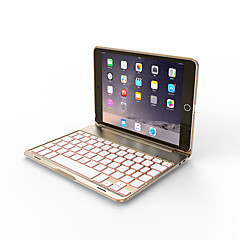 billige -Bluetooth Kontor-tastatur Bluetooth Til iPad mini / iPad mini 2 / iPad mini 3