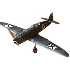 voordelige -3D-puzzels Papierkunst Vliegtuig Vechter Simulatie DHZ Klassiek Unisex Geschenk