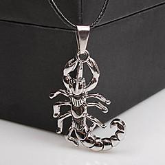 Муж. Ожерелья с подвесками Заявление ожерелья Геометрической формы Нержавеющая сталь Титановая сталь Уникальный дизайн В виде подвески