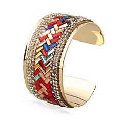 Dames Bangles Cuff armbanden Modieus Punk-stijl Rock Regenboog Gothic Ijzerlegering Metaallegering Geometrische vorm Sieraden VoorToneel
