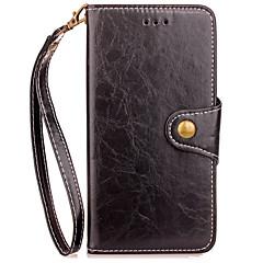 Taske til xiaomi redmi 4x note 4 kuffert kortholder lommebok med stativ flip hele kropscase solid farve hard pu læder til redmi 4 / 4pro