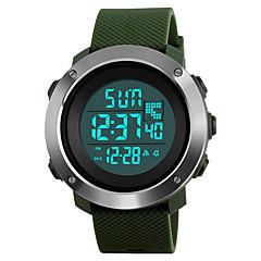 preiswerte Digitaluhren-SKMEI Herrn digital Digitaluhr / Armbanduhr / Militäruhr / Sportuhr Japanisch Alarm / Kalender / Chronograph / Wasserdicht / Großes
