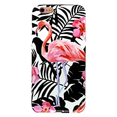 voordelige Dagaanbiedingen-Voor iPhone X iPhone 8 Hoesje cover Patroon Achterkantje hoesje Flamingo Zacht TPU voor Apple iPhone X iPhone 7s Plus iPhone 8 iPhone 7