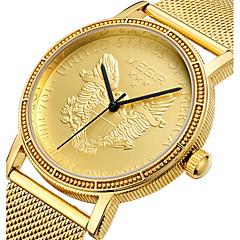 voordelige Roestvast staal-Heren Kinderen Unieke creatieve horloge Vrijetijdshorloge Sporthorloge Militair horloge Dress horloge Modieus horloge Polshorloge
