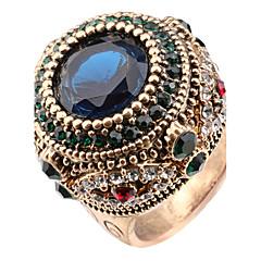 preiswerte Ringe-Damen Kristall Statement-Ring / Ring - Harz, Strass Personalisiert, Luxus, Einzigartiges Design 7 / 8 / 9 Verschiedene Farben Für Weihnachten / Weihnachts Geschenke / Hochzeit