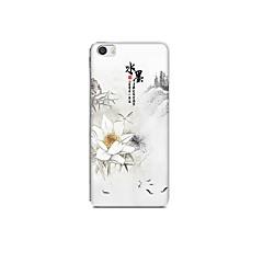 Для xiaomi mi 5 чехол чехол рисунок задняя крышка чехол декорации цветок soft tpu