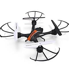 Drón JJRC H33 Orange 4CH 6 Tengelyes LED Világítás Egygombos Visszaállítás 360 Fokos Forgás LebegRC Quadcopter Távirányító 1 Akkumulátor