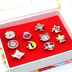 Még több kiegészítő Ihlette Hold matróz Hold matróz Anime Szerepjáték Kiegészítők Gyűrűk