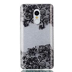 billige Etuier til Xiaomi-Til Etuier IMD Bagcover Etui Blonde Tryk Glitterskin Hårdt TPU for Xiaomi Xiaomi Redmi Note 4X Xiaomi Redmi 4a Xiaomi Redmi 3S