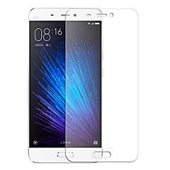 Недорогие Защитные плёнки для экранов Xiaomi-Защитная плёнка для экрана XIAOMI для Xiaomi Mi 5 Закаленное стекло 1 ед. Защитная пленка для экрана Уровень защиты 9H HD