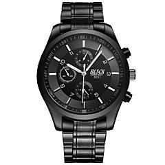 cheap Watch Deals-Men's Dress Watch Fashion Watch Quartz Alloy Band Casual Black