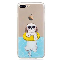 Назначение iPhone X iPhone 8 Чехлы панели С узором Задняя крышка Кейс для С собакой Мягкий Термопластик для Apple iPhone X iPhone 8 Plus