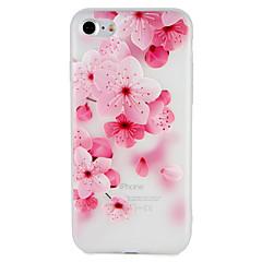 tanie Etui do iPhone-Pokrowiec do jabłka iphone 7 plus 7 okładka wytłoczony wzór obudowa tylna obudowa kwiat miękki tpu 6s plus 6 plus 6s 6 5 5s