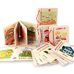 Juguete de Lectura Madera 3-6 años de edad