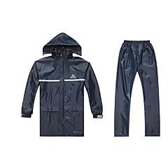 Regenjas Polyester Eco-Vriendelijk Materiaal Allemaal Waterdicht Ruim Passend Regen Windbestendig Opvouwbaar Hoge kwaliteit Motorbanden