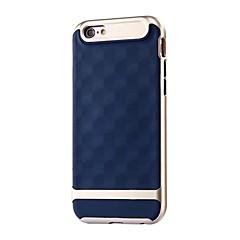 Недорогие Кейсы для iPhone 5-Чехол для Apple iphone 7 7 плюс геометрический узор tpu с каркасом ПК ударопрочный чехол для iphone 6s 6 плюс se 5s 5