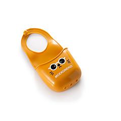 1pc 청소 용품 실리콘 파우치 보관 귀여운 만화 고양이 싱크 가방