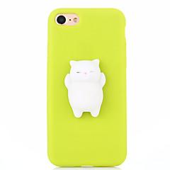 Hoesje voor iphone 7 plus 7 squishy diy stress reliëf geval achterkant hoesje schattig 3d cartoon soft tpu hoesje voor iphone 6 6s 6 plus