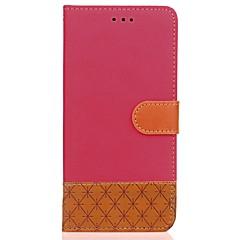 Etui til xiaomi redmi 4 4x kuffert kortholder lommebok med stativ flip præget fuld kropscase solid farve hard pu læder til note 4 / 4x 4