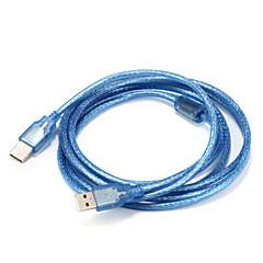 hesapli Kablolar ve Adaptörler-USB 2.0 Kablo, USB 2.0 to USB 2.0 Kablo Erkek - Erkek 3.0M (10 ft)