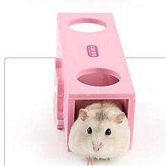 Κλουβιά για Κουνέλια Ανθεκτικό Ξύλο Ροζ