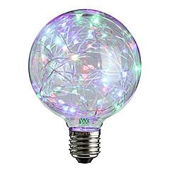 preiswerte LED-Birnen-YWXLIGHT® 2W 100-200lm E27 LED Kugelbirnen 25 LED-Perlen Dip - Leuchtdiode Dekorativ Warmes Weiß RGB 85-265V