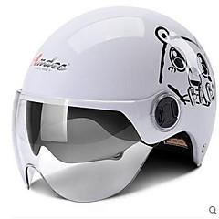 preiswerte Autozubehör-Halber Helm Formschluss Kompakt Luftdurchlässig Beste Qualität Half Shell Sport Motorradhelme