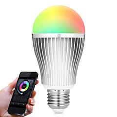 preiswerte LED-Birnen-BRELONG® 1pc 9 W 900 lm Smart LED Glühlampen A60(A19) 20 LED-Perlen SMD 5730 Infrarot-Sensor / Abblendbar / Ferngesteuert RGB / Weiß 85-265 V / 1 Stück