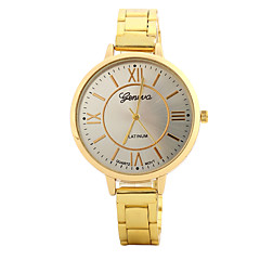 cheap Men's Watches-Women's Fashion Watch Wrist watch Casual Watch Chinese Quartz / Alloy Band Candy color Casual Elegant Silver Gold Rose Gold