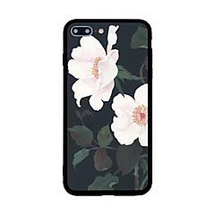 Недорогие Кейсы для iPhone 5-Кейс для Назначение Apple iPhone 7 Plus iPhone 7 С узором Кейс на заднюю панель Цветы Твердый Акрил для iPhone 7 Plus iPhone 7 iPhone 6s