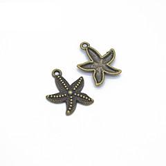 preiswerte Halsketten-Damen Anhänger - Stern Anhänger Stil Anhänger Grau / Gelb / Bronze Für Büro / Geschäftlich / Alltagskleidung / Lässig / Alltäglich
