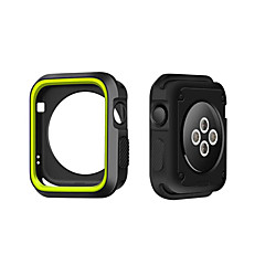 cheap Apple Watch Cases-For Apple Watch Case 3 38 42mm Scratch-resistant Flexible Case Slim Lightweight Protective Bumper Cover for Apple Watch Series 1/2