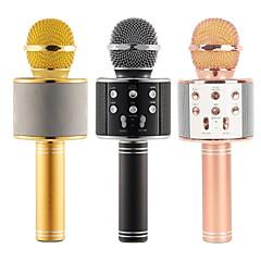 abordables Micrófonos-Micrófono de Karaoke Bluetooth