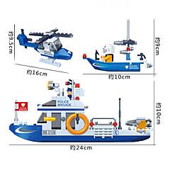 Bausteine 3D - Puzzle Spielzeug-Autos Polizeiauto Spielzeuge Flugzeug Schiff Heimwerken Jungen Mädchen Stücke