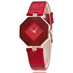 voordelige Bekijk deals-Dames Kwarts Polshorloge Chinees Vrijetijdshorloge PU Band Amulet Informeel Uniek creatief horloge Dress horloge Elegant Modieus Zwart