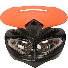 Недорогие Фары для мотоциклов-Лампочки включены Очень легкие