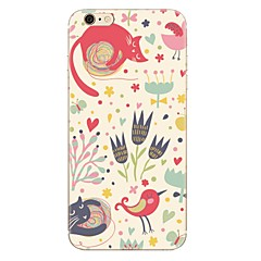 cheap iPhone 5S / SE Cases-Case For Apple iPhone 7 Plus iPhone 7 Pattern Back Cover Cartoon Soft TPU for iPhone 7 Plus iPhone 7 iPhone 6s Plus iPhone 6s iPhone 6