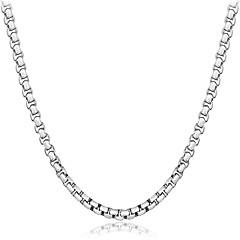 Муж. Жен. Ожерелья-бархатки Бижутерия Геометрической формы Стерлинговое серебро Природа Pоскошные ювелирные изделия Chrismas Классика