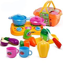 Oyuncak Mutfak Takımları oyuncak Gıdalar Oyuncaklar Yiyecek Oyuncaklar Erkekler Genç Kız Parçalar