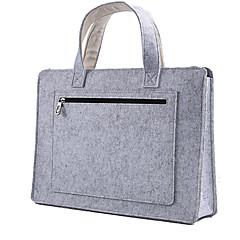 애플 맥북 15 인치 양모는 노트북 가방 캐비닛 핸드백을 느꼈다