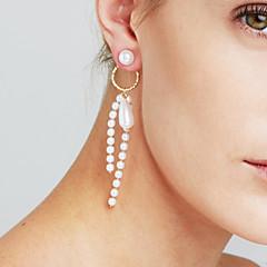 preiswerte Ohrringe-Damen Quaste Lang Ohrring - Zierlich, Erklärung, Personalisiert Gold / Silber Für Weihnachten Weihnachts Geschenke Jahrestag