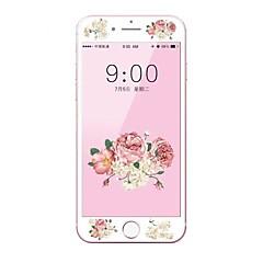 Недорогие Защитные пленки для iPhone 6s / 6 Plus-Защитная плёнка для экрана Apple для iPhone 6s Plus iPhone 6 Plus Закаленное стекло 1 ед. Защитная пленка на всё устройство 3D