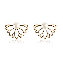 preiswerte Ohrringe-Damen Ohrstecker - Blume Klassisch, Simple Style, Modisch Gold / Silber Für Geburtstag Geschenk Alltag